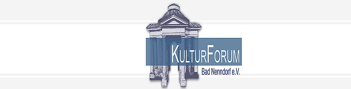 Kopffoto Logo Kulturforum